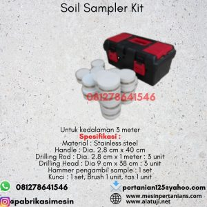 Soil Sampler Kit